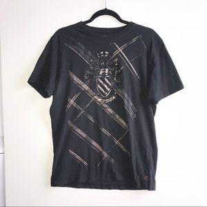 Express Men's Black  T-shirt Large